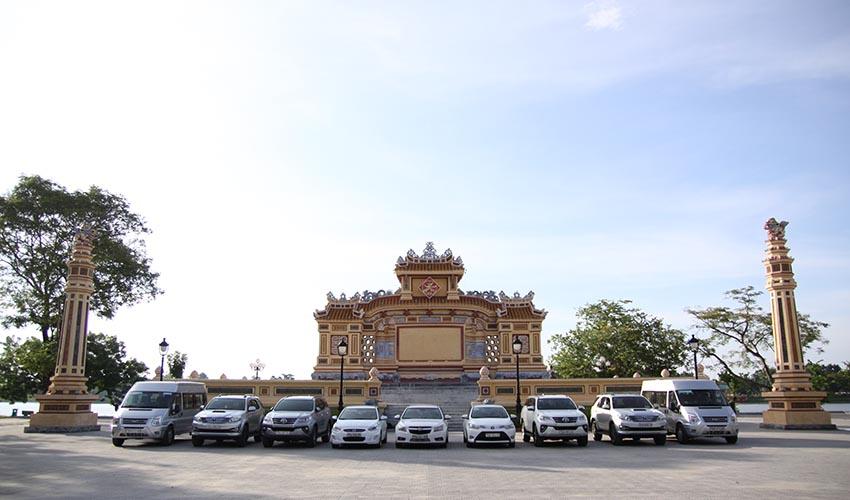 Tien Sa Port to Hue by car
