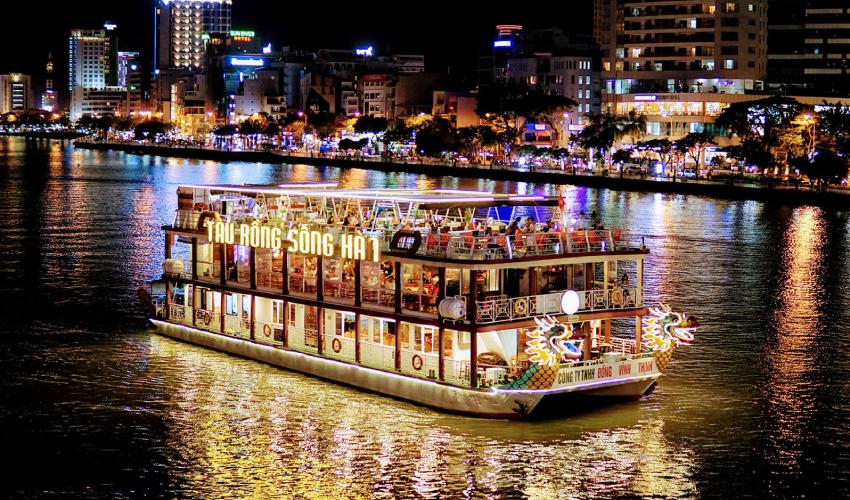 Han River Night Cruise - what to do in da nang at night