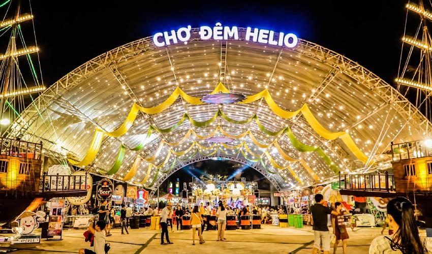 Helio Night market - shopping in da nang