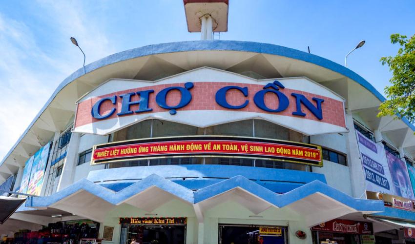 con market - shopping in da nang