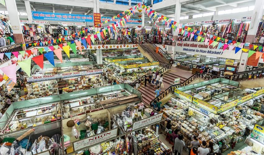 han market - shopping in da nang