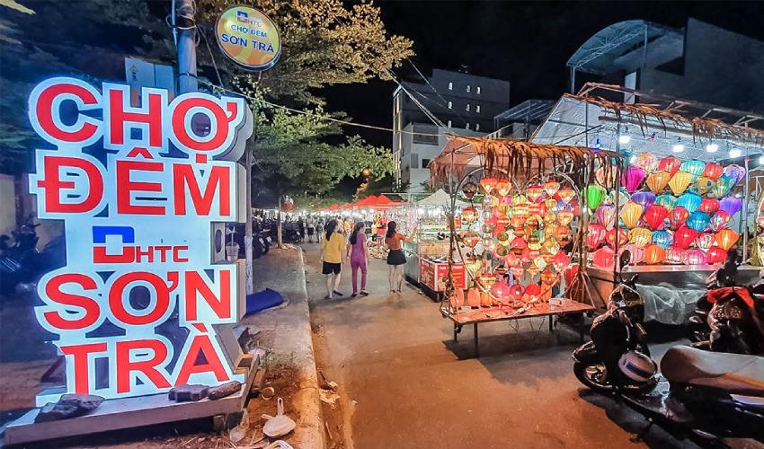 son tra night market