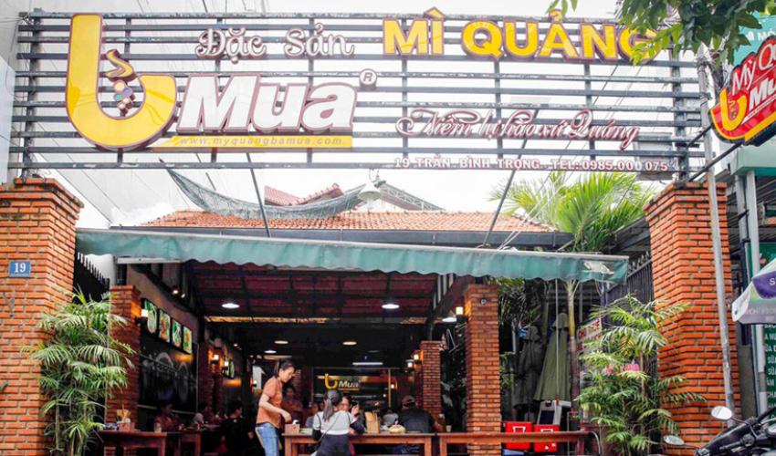 Madam Mua - eat in Da Nang