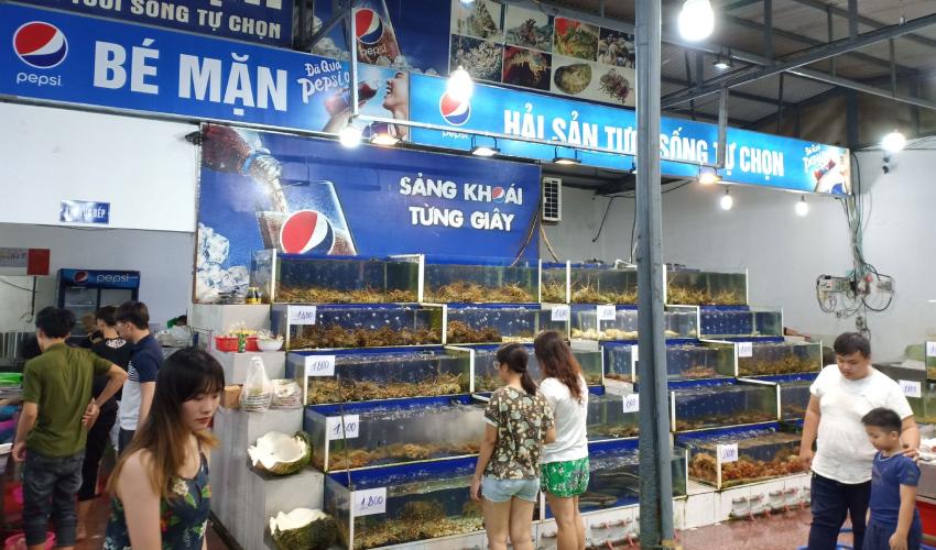 Man Seafood - eat in Da Nang