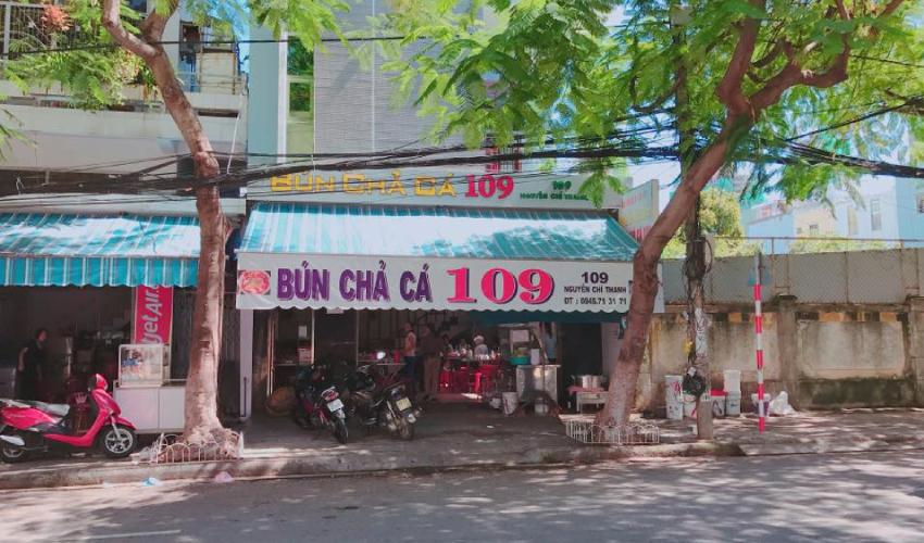 bun cha 109 - eat in Da Nang