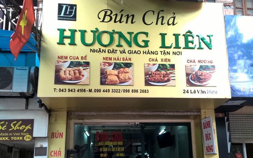 bun-cha-huong-lien - Where to eat in Hanoi Vietnam