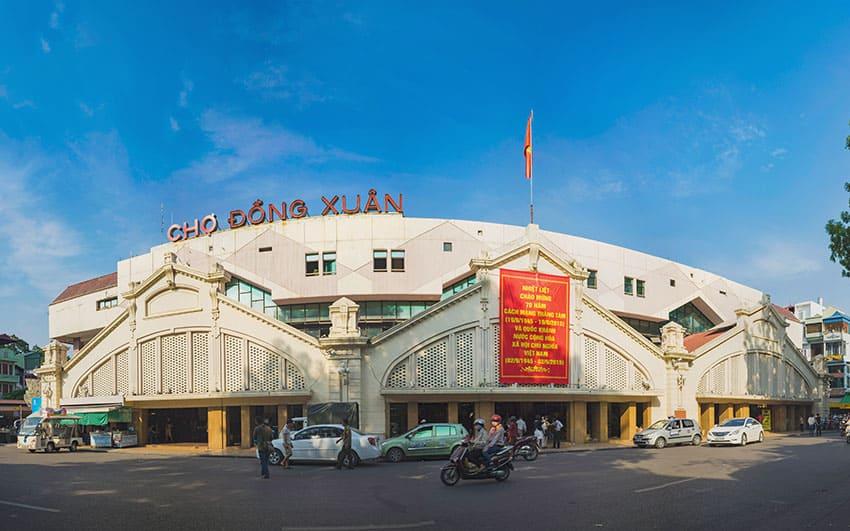 Dong-Xuan-market - Where to shop in Hanoi Vietnam