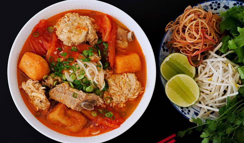 Bun Reu - What to eat in Ho Chi Minh Vietnam