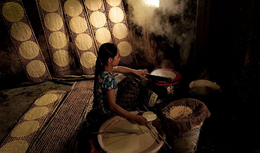 Make-rice-paper