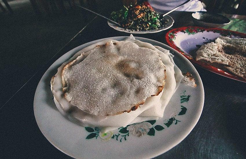 Banh Dap - hoi an street food