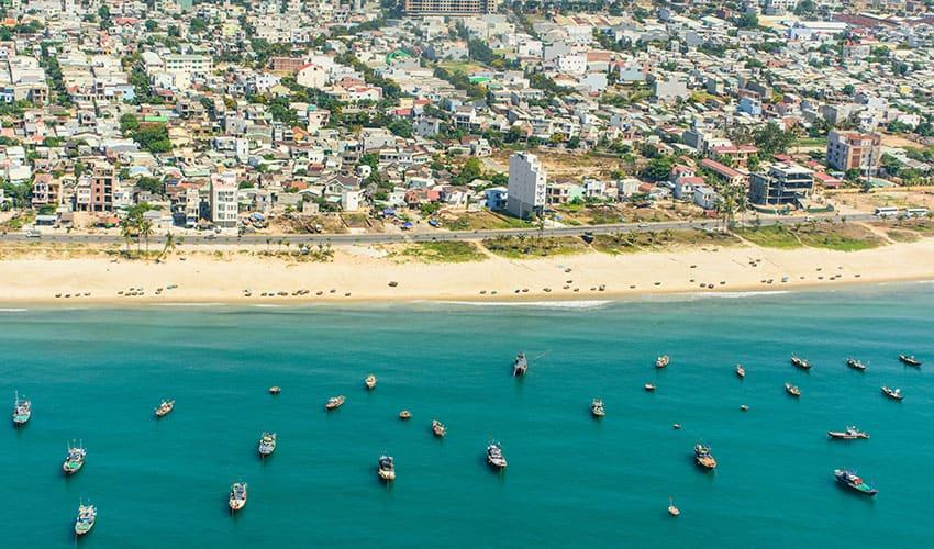 My Khe Beach - what to see in da nang