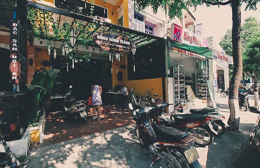 White Rose Restaurant - Where to eat in Hoi An Vietnam