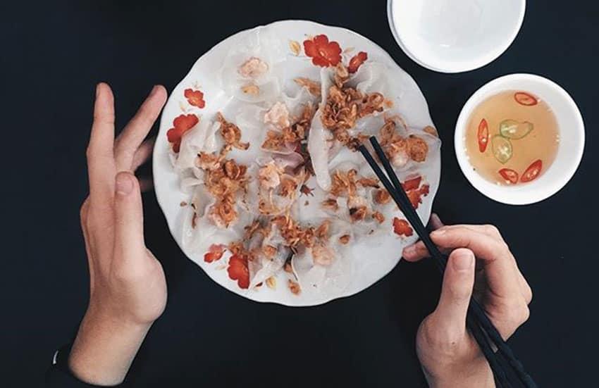 white rose dumplings - Where to eat in Hoi An