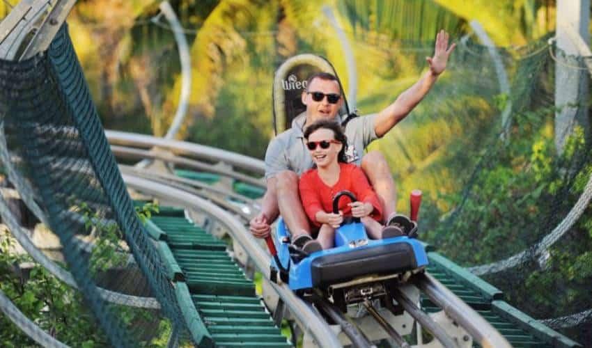 Alpine Coaster - French Village Ba Na Hills