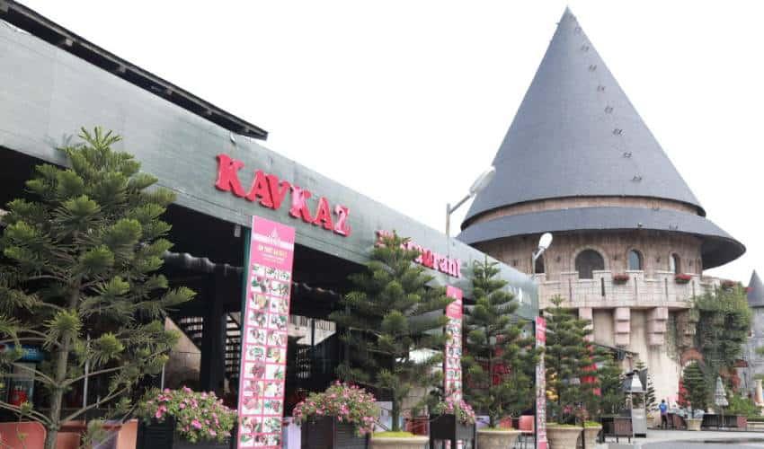Kavkaz Restaurant in French Village Ba Na Hills
