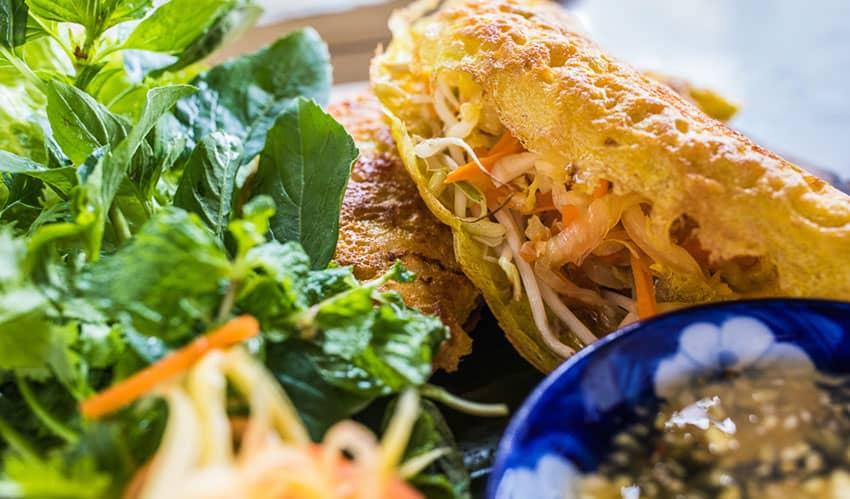banh xeo - hoi an street food