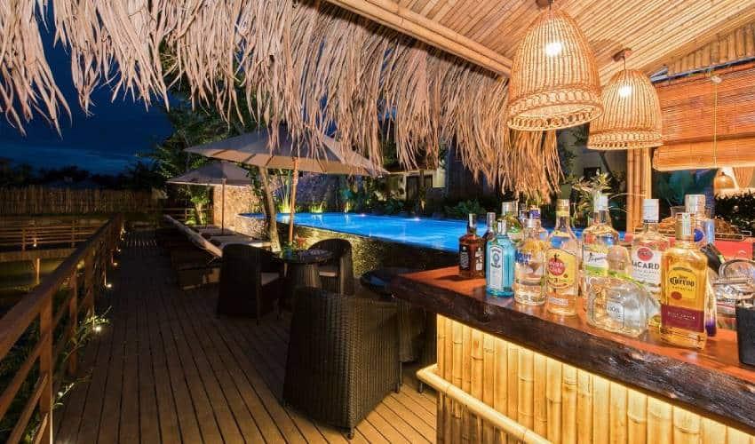 pool night Hoi An Eco Lodge & Spa