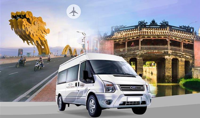 Hoi an Express Shuttle Bus Service - Hoi an To Da Nang Airport