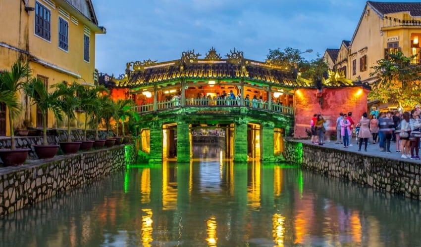 Japanese Covered Bridge Hoi An Nightlife