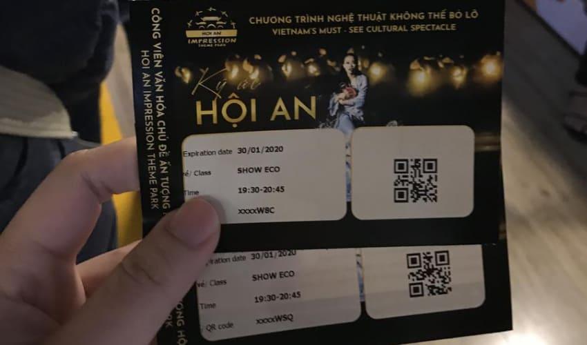 Memories show Tickets