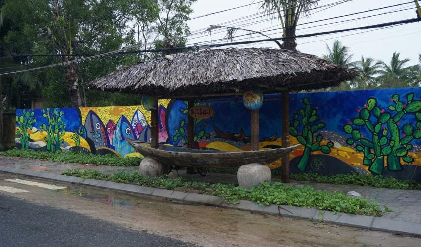 Tam Thanh mural village quang nam