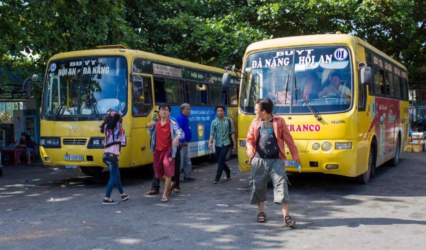 bus - Hoi an To Da Nang Airport