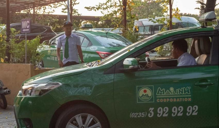 mai linh taxi - hoi an taxi service
