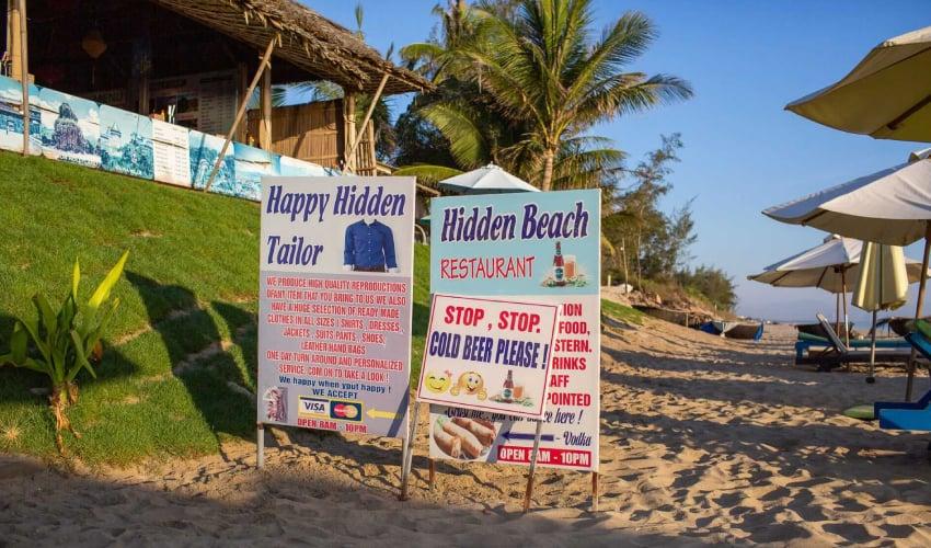hidden beach restaurant