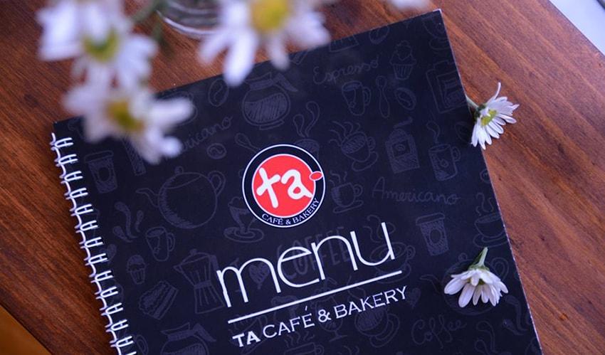 ta menu - the best cafe shop in Hue
