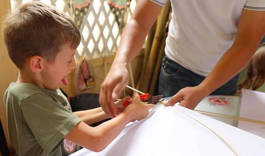 making-kite