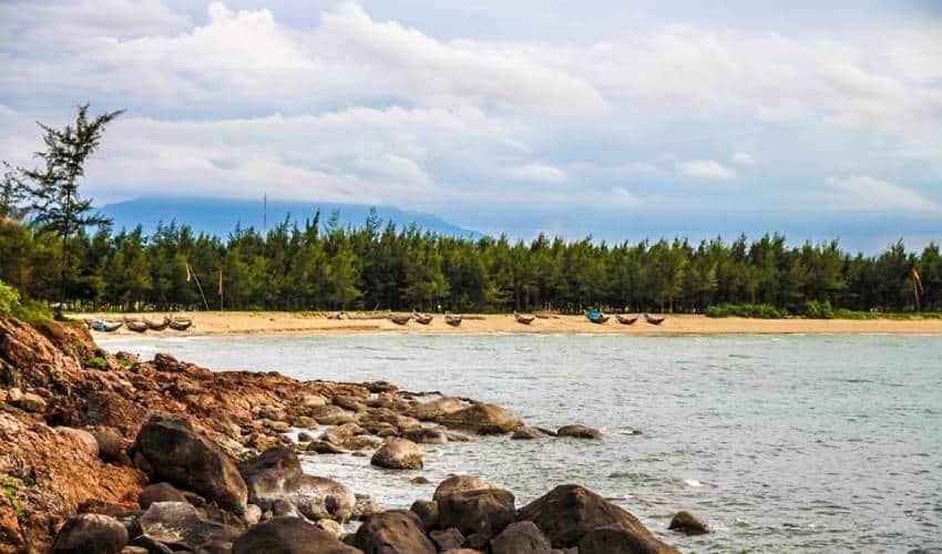 Ham Rong Beach - hue vietnam beach