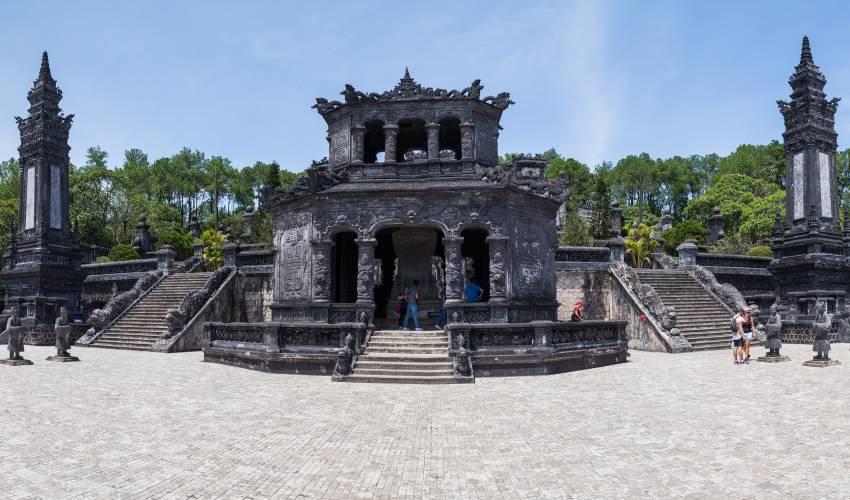 Khai Dinh Tomb in Hue