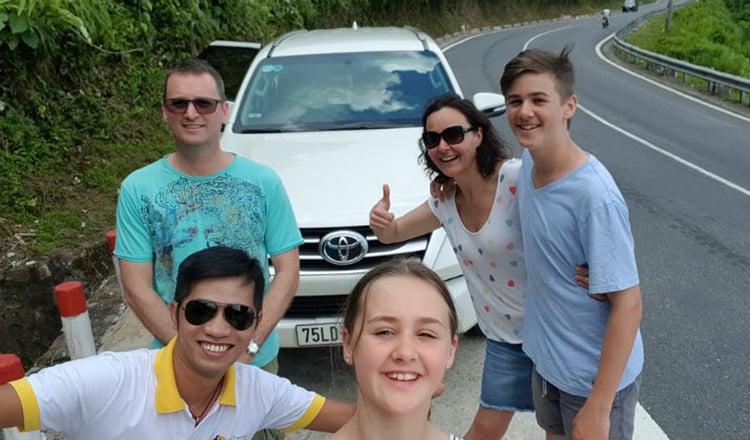 Phong Nha to Da Nang by car